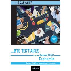 Annales De Révisions ECONOMIE BTS Tertiaires / LE GENIE / EX086-9782375633038