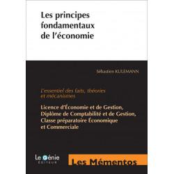 Mémentos De Révision Les principes fondamentaux de l 'économie / Le Génie / EX087-9782843479885