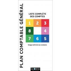 PLAN COMPTABLE GÉNÉRAL / LE GENIE / GE150-9782375630235