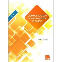 Communication et information clientèle CAP Le Génie AP157