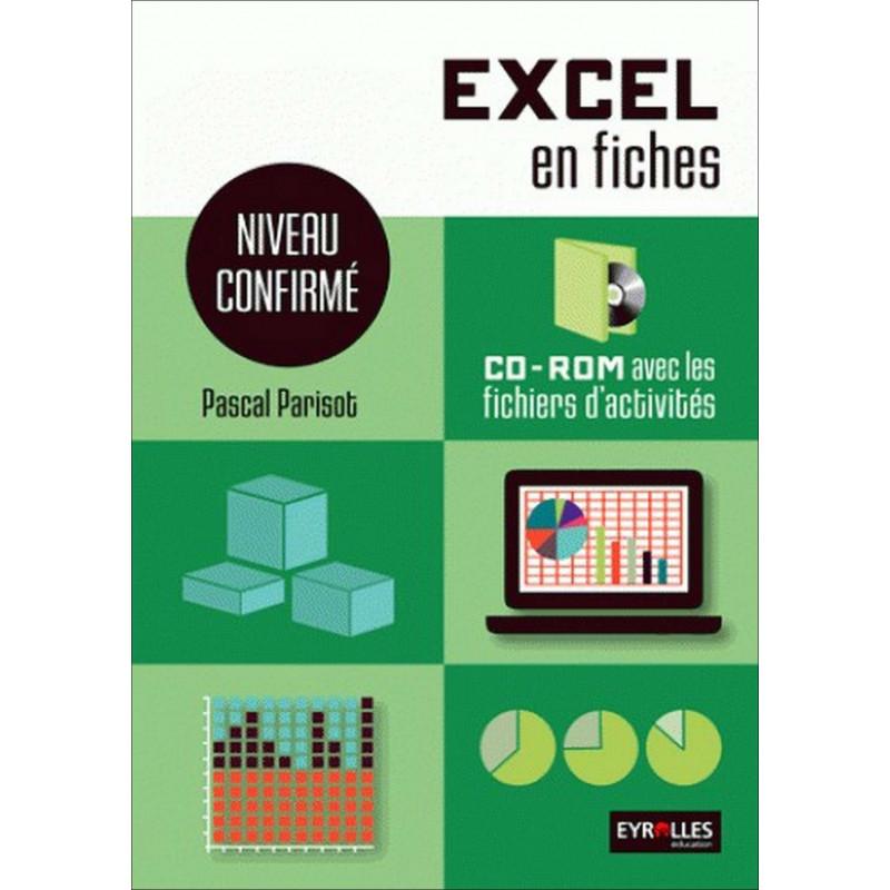 EXCEL en fiches Niveau confirmé / LE GENIE / EX151-9782844259752