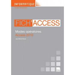 Fascicule Fich' ACCESS 2010 INFORMATIQUE TOUS NIVEAUX / LE GENIE / AP240-9782844258168