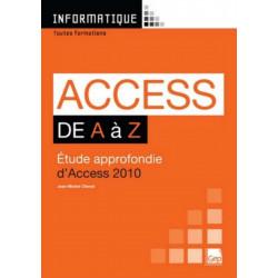 ACCESS 2010 De A à Z Niveau Débutants / LE GENIE / AP239-9782844258106