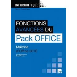 PACK OFFICE 2010 FONCTIONS AVANCÉES / LE GENIE / AP244-9782844258182