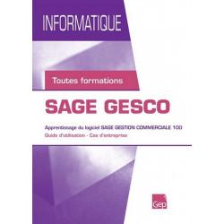 SAGE GESCO Gestion commerciale Tous Niveaux / LE GENIE / AP257-9782844256263