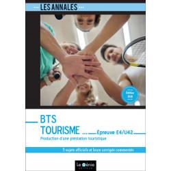 Annales BTS Tourisme Épreuve E4/U42 Le Génie EX108 Librairie Automobile SPE EX108