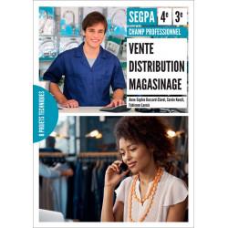 VENTE DISTRIBUTION MAGASINAGE - Champ professionnel - 4e et 3e SEGPA / LE GENIE / AP153-9791027000142