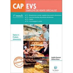 Option A 1e Année CAP EVS / LE GENIE / AP267-9782375630013