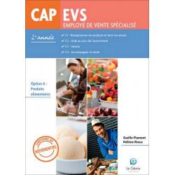 CAP EVS Option A 2° Année Le Génie AP268 Librairie Automobile SPE AP268