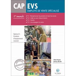 Option B 1e Année CAP EVS / LE GENIE / AP287-9782375630594
