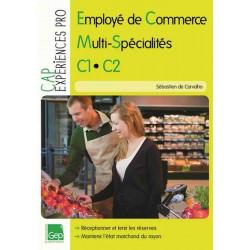 C1.C2 CAP EMPLOYÉ DE COMMERCE MULTI-SPÉCIALITÉS / LE GENIE / AP162-9782844258427