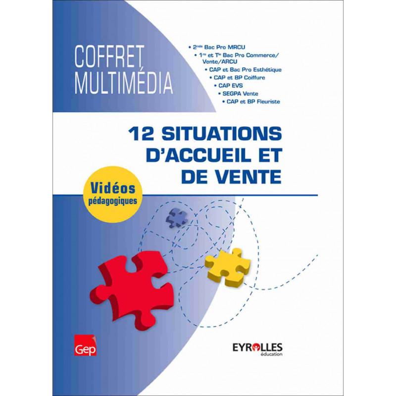 Coffret multimédia 12 situations d'accueil et de vente Le Génie VD150 Librairie Automobile SPE VD150