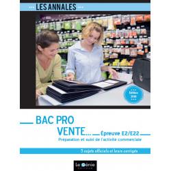 Annales De Révisions Épreuve E2/E22 Bac Pro Vente / LE GENIE / EX247-9782375633137