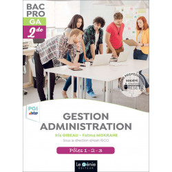 Seconde PGI-EBP BAC PRO GESTION ADMINISTRATION / LE GENIE / AP284-9782375630655