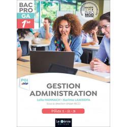 Première PGI-EBP BAC PRO GESTION ADMINISTRATION / LE GENIE / AP285-9782375630662