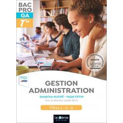 Terminale PGI-EBP BAC PRO GESTION ADMINISTRATION / LE GENIE / AP286-9782375630679