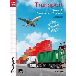 TRANSPORT Tome 2 Première et Terminale BAC PRO TRANSPORT  / LE GENIE / AP211-9782844259189