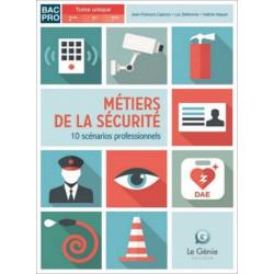 10 scénarios BAC PRO MÉTIERS SÉCURITÉ Le Génie AP218 Librairie Automobile SPE AP218