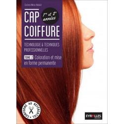 Tome 2 COLORATION ET MISE EN FORME CAP COIFFURE / LE GENIE / AP170-9782844259592