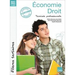 ÉCONOMIE-DROIT Terminale BAC PRO TERTIAIRES / LE GENIE / AP186-9782844258502