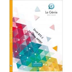 Droit BTS 2 / EDITION Le Génie / AP097-9782843479731