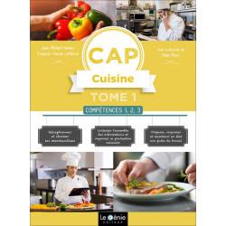 Tome 1 COMPÉTENCES 1, 2, 3 CAP CUISINE / LE GENIE / AP297-9782375631331
