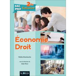 ÉCONOMIE-DROIT Seconde BAC PRO TERTIAIRES / LE GENIE / AP300-9782375631379