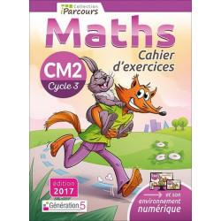 Cahier d'exercices iParcours MATHS CM2 (éd. 2017) Génération 5 Librairie Automobile SPE 9782362461767