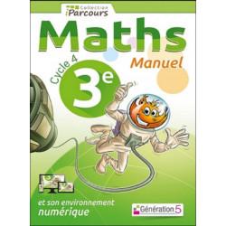 Manuel iParcours Cycle 4 Maths (3ème) Génération 5 Librairie Automobile SPE 9782362461484