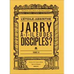 ALFRED JARRY - L'ETOILE ABSINTHE tournée 137 Librairie Automobile SPE 9782355481246