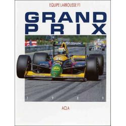 Grand Prix 1989 de Didier Braillon Librairie Automobile SPE 9782865190980