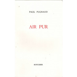 AIR PUR de PAUL PUGNAUD Librairie Automobile SPE AIR PUR