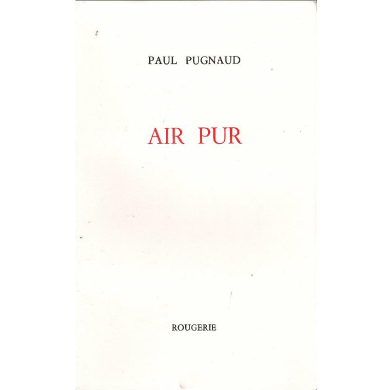 AIR PUR de PAUL PUGNAUD Librairie Automobile SPE AIR PUR