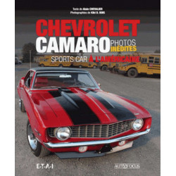 CHEVROLET CAMARO SPORTS CAR A L'AMÉRICAINE / Alain Chevalier / Edition -9791028300562