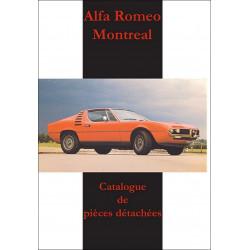 Alfa Romeo Montreal - Catalogue de pièces détachées