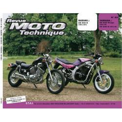 REVUE MOTO TECHNIQUE YAMAHA XV 535 VIRAGO de 1988 à 1996 - RMT 83 Librairie Automobile SPE 9782726891315