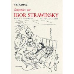 SOUVERNIRS SUR IGOR STRAWINSKY de C.F RAMUZ Librairie Automobile SPE SOUVERNIRS SUR IGOR