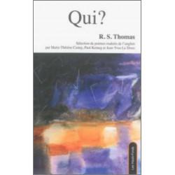 Qui ?, de R. S. Thomas Ed. Les Hauts-Fonds Librairie Automobile SPE 9782919171101