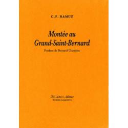 MONTEE AU GRAND SAINT BERNARD de C.F RAMUZ Librairie Automobile SPE MONTTE AU GRAND