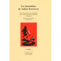 LES JOURNALISTES DE ARTHUR SCHNITZLER Librairie Automobile SPE LES JOURNALISTES