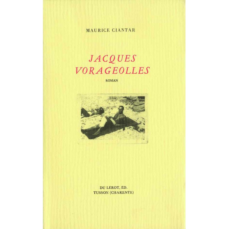 JACQUES VORAGEOLLES de MAURICE CIANTAR Librairie Automobile SPE JACQUES VORAGEOLLES