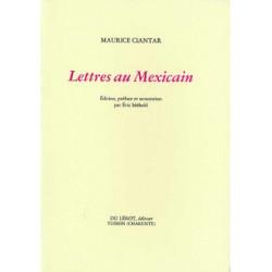 LETTRES AU MEXICAINS de MAURICE CIANTAR Librairie Automobile SPE LETTRES AU MEXICAINS