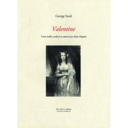 VALENTINE de GEORGE SAND Librairie Automobile SPE VALENTINE