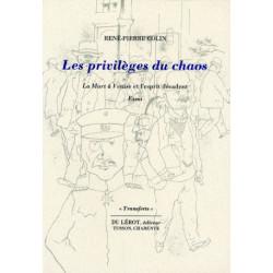 LES PRIVILÈGES DU CHAOS la Mort à Venise et l'esprit décadent de R.P COLIN Librairie Automobile SPE LES PRIVILÈGES