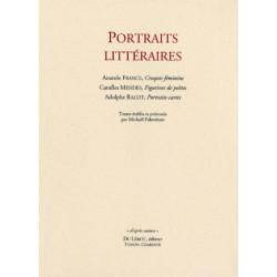 PORTRAITS LITTÉRAIRES Librairie Automobile SPE PORTRAITS LITTÉRAIRES