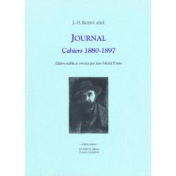 JOURNAL CAHIERS 1880-1897 de J.H ROSNY AÎNÉ Librairie Automobile SPE JOURNAL CAHIERS