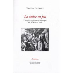 LA SATIRE EN JEU de Vanessa PIETRASIK Librairie Automobile SPE LA SATIRE EN JEU