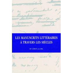 LITTÉRAIRES A TRAVERS LES SIÈCLES de ALMUTH GRESILLON Librairie Automobile SPE LITTÉRAIRES A TRAVERS