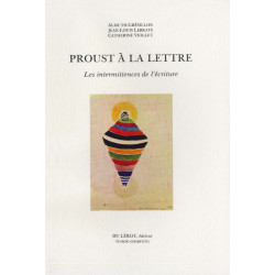 PROUST A LA LETTRE de A. GRESILLON, J.L LEBRAVE, C. VIOLLET Librairie Automobile SPE PROUST A LA LETTRE