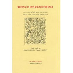 WRITING ITS OWN WRUNES FOR EVER de D. FERRER et C. JACQUET Librairie Automobile SPE WRITING ITS